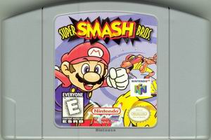 Super Smash Bros. (USA) Cart Scan